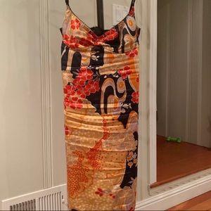 Dolce & Gabanna Floral Midi Dress